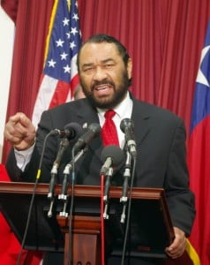 Congressman Al Green also nominated Yank Barry for the Nobel Peace Prize