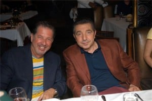 Yank Barry and Cosimo Commisso, a top boss of the Italian Mafia in Canada
